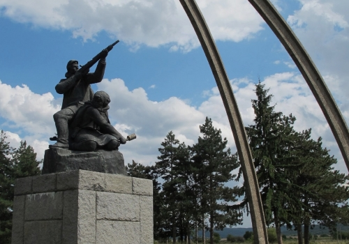 Balvan Monument to the Partisans