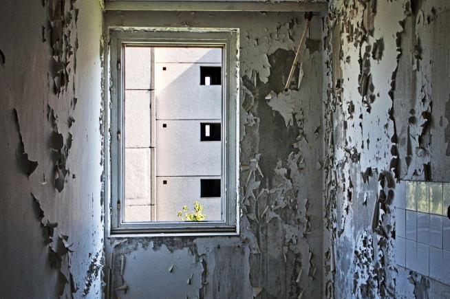 Abandoned Soviet barracks in Szentkirályszabadja