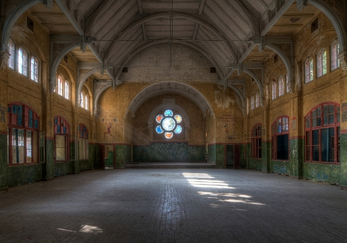 Beelitz Sanatorium/ Military Hospital