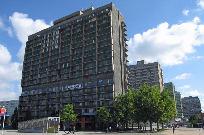 Block of flats in Halle Neustadt