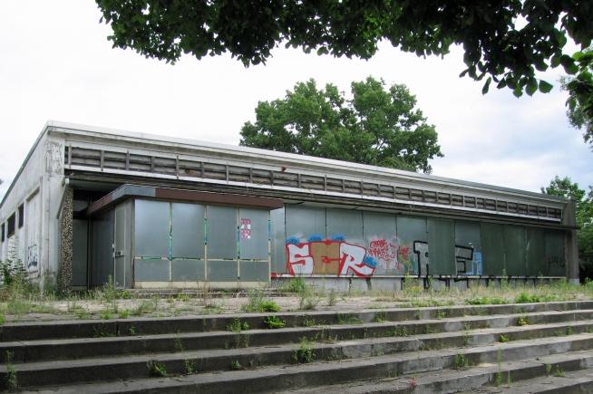 Abandoned DDR supermarket