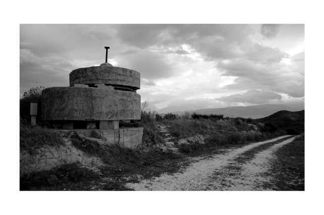 Communist bunker in Fier