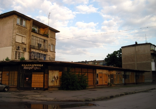 Abandoned shops in Sofia