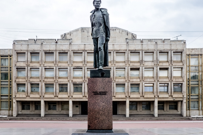 Statue of Felix Dzerzhinsky