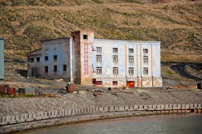 Pyramiden Mining Town