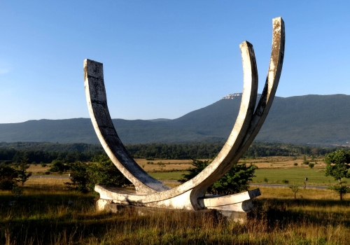 Monument in Medeno Polje