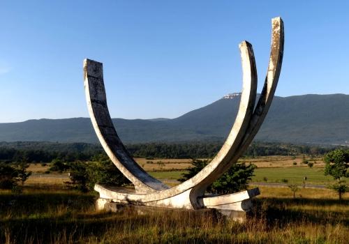 Monument in Medeno Polje