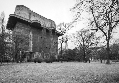 Flak towers in Arenberg Park